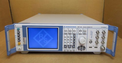Rohde & Schwarz R&S SMF 100A 1 - 22GHz Signal Generator 1167.0000.02 Tester R&S
